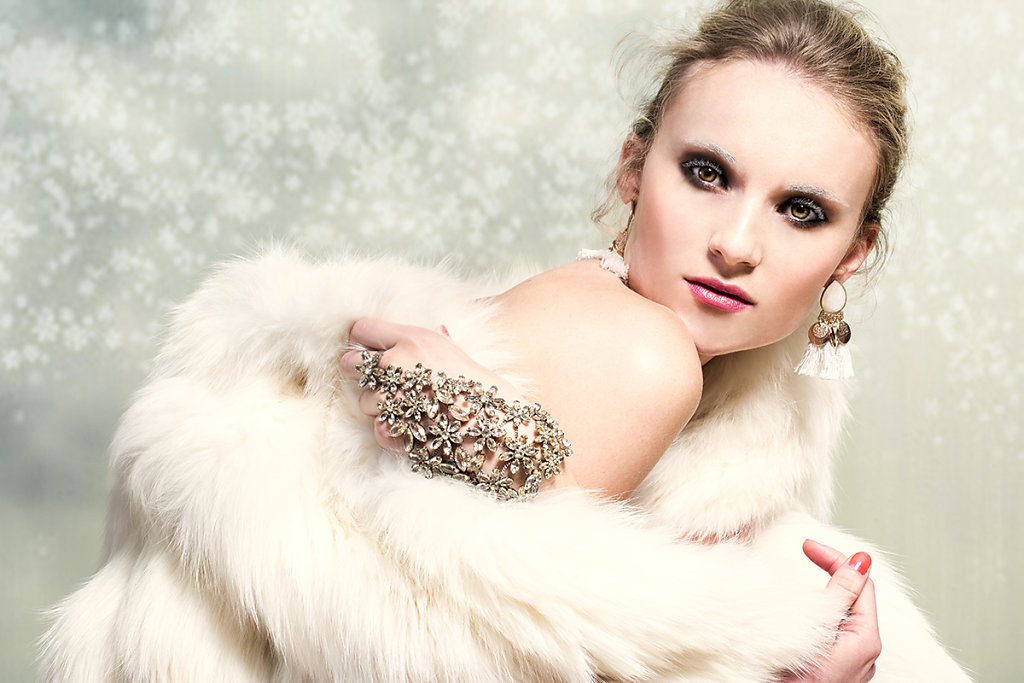 Snowqueen Make-up by Christian Dior